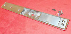 1966 1967 Lincoln Continental Sedan Lh Rear Door Arm Rest Bezel And Switch Panel