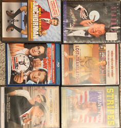Movies Blu Ray Dvds Lot. Miscellaneous Comedies. Bill Murray. Dramadies.