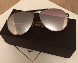Tom Ford Aviator Sunglasses TF536 Sean 28C 60mm FT0536 tortoiseshell