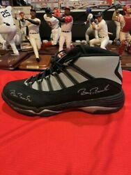 Barry Bonds Signed Game Cleats. Only Left Shoe. Sf Giants.