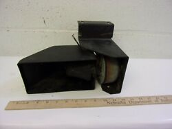 Vintage Police Car Fire Truck Siren Horn And Driver