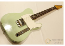 Infinite Trad T Surf Green Mid Aged Hi-end Rare Electric Guitar Japan Shipped