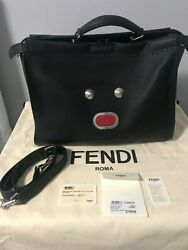 BNWT FENDI PEEKABOO MEN MEDIUM ICONIC BAG RETAILS $5600 $2,999.00