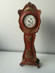 Tabletop Clock Duchene And Fils Nineteenth Century Movement A Cane Working