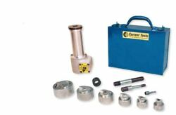 Current Tool 162ss 1/2-2 Stainless Steel Knockout Kit Drill Driven