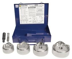 Current Tool 166ss 2-1/2-4 Stainless Steel Knockout Kit Stud And Punch Only
