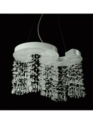 Chandelier A Led From Ceiling Modern Design Lamp Hanging Crystal 56
