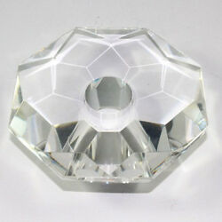 Bobeche Crystal For Replacement Chandelier And Wall Coll. Octagonal