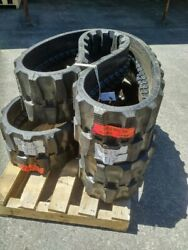 Set Of Summit Used 13 Rubber Tracks - Fits Bobcat, Gehl   Free Shipping - 320x