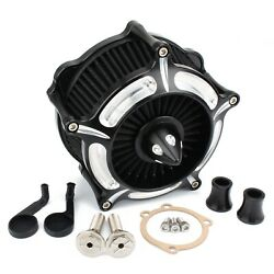 Turbine Air Filter Intake Cleaner For Harley Sportster XL 1200 883 Forty Eight $81.99
