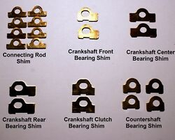 Henderson Deluxe Motorcycle - Motor Brass Shim Kit - Antique Reproduction