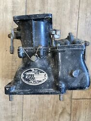 Radial Engine Carburetor Nar9bandnbsp As Removed From Running Aircraft