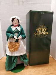 Department 56 Heritage Village Collection 18 Doll Christmas Carol Wife 5907-2