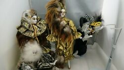 Jigsaw Collectible Porcelain Dolls Set Of 4 New Orleans