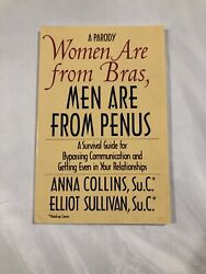 A Parody Women Are From Bras, Men Are From Penus Signed By Anna Collins