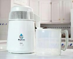 Megahome Water Distiller White Plastic Collection Bpa Free