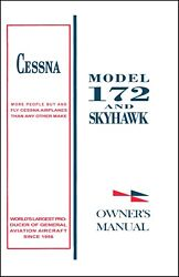 Cessna Skyhawk Airplane Information Ownerand039s Manual Poh - 172m - 1973