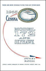 Cessna Skyhawk Airplane Information Ownerand039s Manual Poh - 172f - 1965