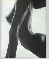 1965 Peter Basch Yoga Move Nude Female Breasts Photo Gravure