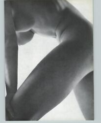 1965 Peter Basch Abstract Torso Nude Female Legs Breasts Photo Gravure