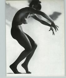 1965 Peter Basch Contemporary Dance Nude Female Breasts Photo Gravure