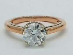 14K Two Tone Gold Engagement Ring 23 Diamonds 1.60 Carat T.W. Size 7 (AP1067198)