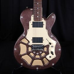 Used Lindert Conductor Hh Pistol Headstock Electric Guitar