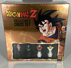 New Sealed Dragon Ball Z Collector's Chess Set 100 Authentic Ready To Ship