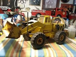 Vintage Early 70s Tonka Mighty Loader Front End Loader. Andnbspused Condition. Andnbsp