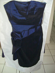 Badgley Mischka Collection Formal Dress Indigo Size 6 NWT