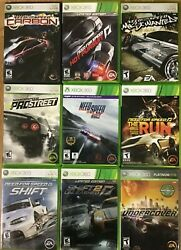 Need For Speed Games Microsoft Xbox 360 360 Tested