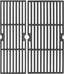 Cast Iron Cooking Grid Grates 18 For Charbroil Performance 2 Burner 300 Grill