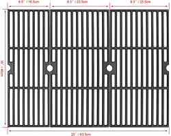 Cast Iron Cooking Grids Grates Grid 18'' For Charbroil Performance 4-burner 475