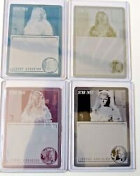 Star Trek Tos Archives And Inscriptions Printing Plates Set 27