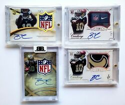 5 1/1 2014 Brandin Cooks Rc Rpa National Treasures Immaculate Auto Nfl Shield