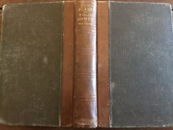 1898 Rare Text Book Of Geometry-historical Value