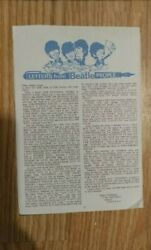 Letters From Beatle People. Rare 2 Find. Henry Wickman. Malta G.c. Johnny Dean.