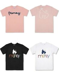 Money Clothing Mens T Shirt Short Sleeve Gym Top Muscle Summer Jersey Pastel Tee