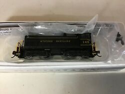 """Bachmann 63151 N Scale """"western Maryland"""" S4 Diesel With Dcc Rd. 145"""