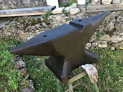 Xl 529 Lbs Special Blacksmith Anvil With Swage On Face To Make Gun Barrels