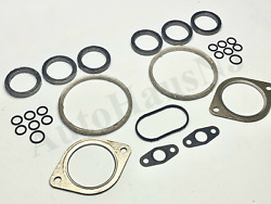 N54 Twin Turbo Charger Installation Gasket Kit Front Rear 3.0 135 335 535 Xdrive
