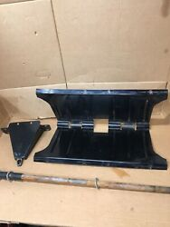 Tow Behind Lawn Mower Utility Cart Frame And Axle Assembly