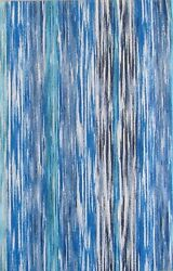 Waterfall Abstract Vinyl Flannel Back Tablecloth - Various Sizes