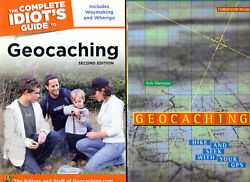 2 Geocaching Books Complete Idiots Guide And Geocaching Hide And Seek With Your Gps