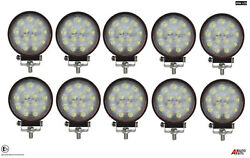 10x Hq 39w Led 4.7'' Round Led Work Lights Lamp Lorry Tractor Offroad Suv 2402lm