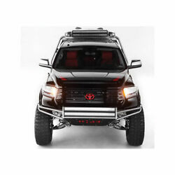 N-fab Rsp Front Bumper W/38 Light Mount Textured For Toyota Tundra 2007-2013