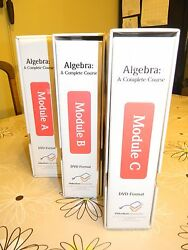 Algebra A Complete Course 2nd Ed. Modules A B And C Grade Nine