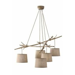 Suspended Lights Classic Rustic Effect Wood