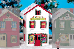 Piko G Scale 62712 North Pole Toy Workshop 1 Built-up Building G-scale Hh