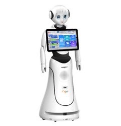 Robot Consultant Intelligent Humanoid Smart Service Reception Face Recognition